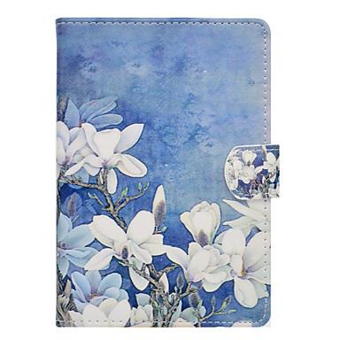 cheap Kindle Cases/Covers-Case For Amazon Kindle Fire hd 7.0 Card Holder / Shockproof / with Stand Full Body Cases Flower Hard PU Leather