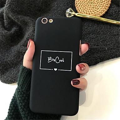 Carcasă Pro Apple iPhone X / iPhone 7 Plus Vzor Zadní kryt Slovo / citát Pevné Akrylát pro iPhone X / iPhone 8 Plus / iPhone 8