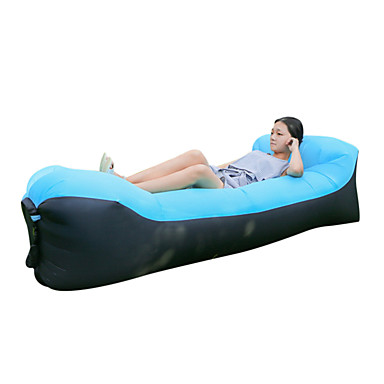 Inflatable Sofa Sleep Lounger Air Bed Outdoor Camping Waterproof Portable