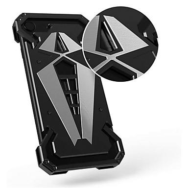 voordelige iPhone 6 Plus hoesjes-hoesje Voor Apple iPhone X / iPhone 8 Plus / iPhone 8 Schokbestendig Achterkant Schild Hard Metaal