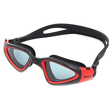 Okulary do pływania Anti-Fog Anti-Wear Regulowany rozmiar Anti-UV Odporny na zarysowania Szyba antywłamaniowa Pasek antypoślizgowy