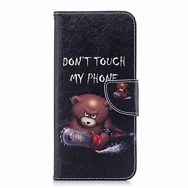 Недорогие Чехлы и кейсы для Galaxy S3-Кейс для Назначение SSamsung Galaxy S9 / S9 Plus / S8 Plus Кошелек / Бумажник для карт / со стендом Чехол Слова / выражения Твердый Кожа PU
