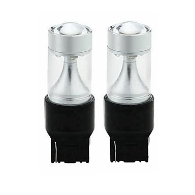 Недорогие Фары для мотоциклов-SENCART 2pcs T20 (7440,7443) Мотоцикл / Автомобиль Лампы 30W Интегрированный LED 1200lm 6 Светодиодные лампы Внешние осветительные приборы