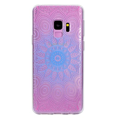 [$3.99] Case For Samsung Galaxy S9 S9 Plus Pattern Back Cover Lace Printing Soft TPU for S9 Plus S9 S8 Plus S8 S7 edge S7