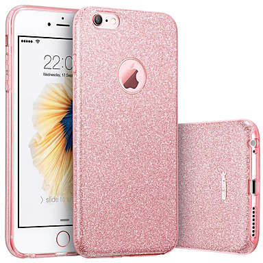 voordelige iPhone-hoesjes-hoesje Voor Apple iPhone 8 Plus / iPhone 8 / iPhone 7 Plus IMD Achterkant Glitterglans Zacht TPU