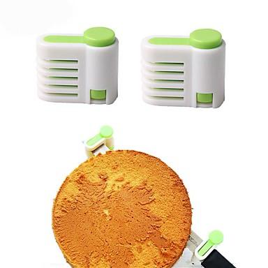 Bakvormen gereedschappen Muovi Verstelbaar Brood / Cake cake Cutter / Pastry Cutters 1pc