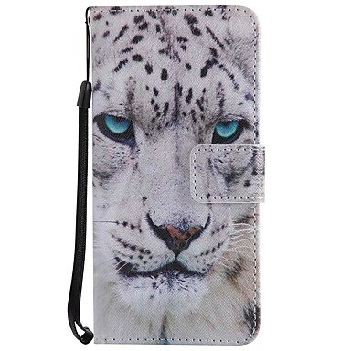 [$6.49] Case For Samsung Galaxy A8 2018 A5(2017) Card Holder Wallet with Stand Flip Magnetic Full Body Cases Animal Hard PU Leather for A3(2017)
