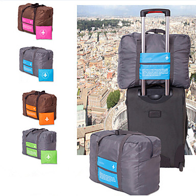 Travel Tote / Travel Duffel Bag Waterproof / Lightweight / Foldable for Luggage Polyester 46*34.5*20 cm Unisex Outdoor / Travel