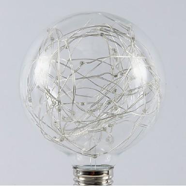 1db 5 W - E26 / E27 LED gömbbúrás izzók 20 LED gyöngyök SMD Dekoratív / Menő / Csillagos Meleg fehér / Hideg fehér / Multi-szín 85-265 V