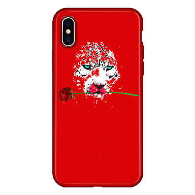 iPhone decorativo retro iPhone Per 06639319 iPhone X Per Fiore disegno per 8 Fantasia Apple Animali Custodia Morbido Plus TPU X animati Cartoni q7IwF1Hv