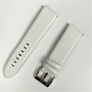 voordelige Horlogebandjes voor Samsung-Horlogeband voor Gear S3 Frontier / Gear S3 Classic Samsung Galaxy Moderne gesp Echt leer Polsband