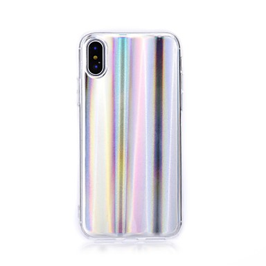 retro Per TPU iPhone iPhone X iPhone Plus Apple 8 06610043 iPhone Fantasia 8 Con 8 Per 7 iPhone X disegno onde Custodia per Plus Morbido iPhone wqOzAA