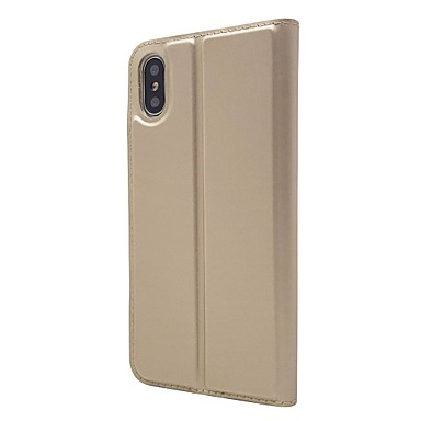 XS Con credito iPhone Per iPhone di Resistente Plus chiusura XR iPhone unita Integrale Tinta per supporto Porta iPhone 8 Con Custodia pelle 06610154 iPhone carte sintetica magnetica Apple X XS F7Zw44x