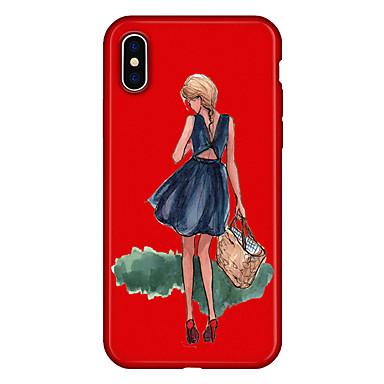 TPU 8 X animati iPhone Per Sexy Fantasia Morbido Per Plus Apple 06639300 iPhone iPhone Cartoni 8 Plus iPhone per retro Custodia disegno iPhone X CwZqnX