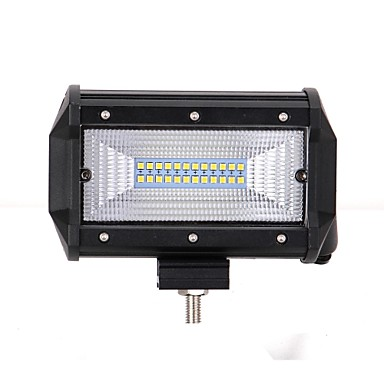 1 Piece Car Light Bulbs 72W Integrated LED 7200lm 24 LED Exterior Lights For universal 2018