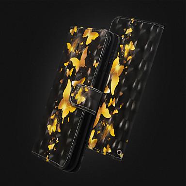 8 Con Per Integrale Farfalla A X agli pelle Resistente portafoglio Resistente Custodia 06715245 Plus supporto Apple urti iPhone iPhone Fw77dX