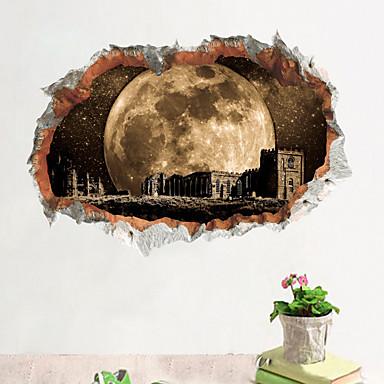 Koriste-seinätarrat - 3D-seinätarrat Maisema Olohuone Makuuhuone Kylpyhuone Keittiö Ruokailuhuone Työhuone / toimisto