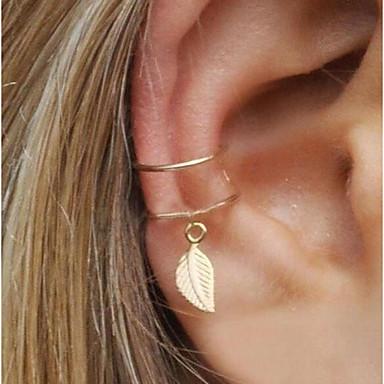 ab4553190 cheap Clip Earrings-Women's Clip on Earring Ear Cuff One Earring