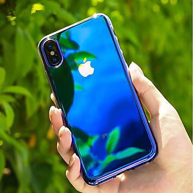 X Sfumato graduale retro 8 Graduale e Colore Custodia Per Per sfumato Apple iPhone Colore PC Transparente iPhone per 06698824 Resistente e x77pw4v