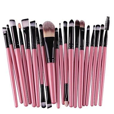Professional Makeup Brushes Makeup Brush Set 20pcs Eco-friendly  Professional Artificial Fibre Brush Alloy for Eyeliner Brush Blush Brush  Foundation