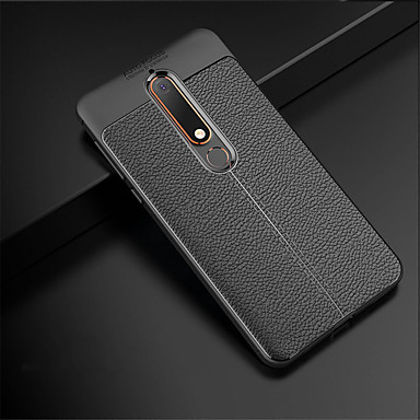 quality design 63be8 f9634 Case For Nokia Nokia 8 Sirocco / Nokia 6 2018 Embossed Back Cover Solid  Colored Soft TPU