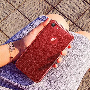 voordelige iPhone-hoesjes-hoesje Voor Apple iPhone X / iPhone 8 Plus / iPhone 8 Glitterglans Achterkant Glitterglans Zacht silica Gel