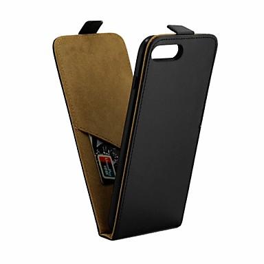 Недорогие Кейсы для iPhone-Кейс для Назначение Apple iPhone 8 Pluss / iPhone 7 Plus IMD Чехол Однотонный Мягкий Кожа PU