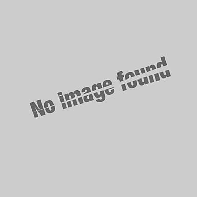billige Herrers Mode Beklædning-Krave Herre - Farveblok / Dyr / Portræt Bomuld, Broderi Basale Sport Polo Hvid XL / Kortærmet