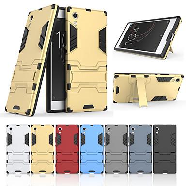 voordelige Hoesjes / covers voor Sony-hoesje Voor Sony Sony Xperia XA1 met standaard Achterkant Effen Hard PC