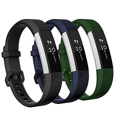 Klokkerem til Fitbit Alta HR Fitbit Sportsrem Silikon Håndleddsrem