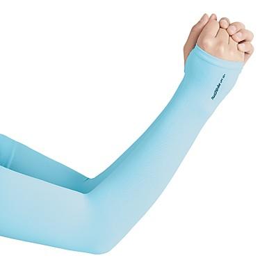 Naturehike رجالي نسائي الذراع تدفئة مقاوم للأشعة فوق البنفسجية للتبريد نايلون سباندكس إلى الخارج Fitness الركض 1 زوج / مرن نسبياً