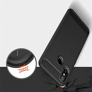 غطاء من أجل Xiaomi Xiaomi Mi Mix 2 / Xiaomi Mi Mix 2S / Xiaomi Mi 8 مطرز غطاء خلفي لون سادة ناعم TPU / Xiaomi Mi 6