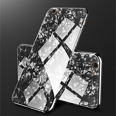 X marmo specchio retro Placcato iPhone Effetto iPhone 8 X A Resistente temperato 06720957 8 iPhone per Per iPhone Apple Per Custodia Vetro 7qwtS8