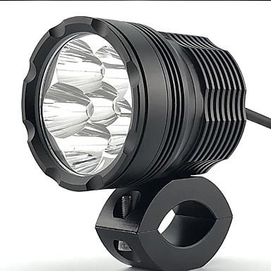 voordelige Motorverlichting-1 stuk hoge kwaliteit super heldere lichtheid 60 w 6000lm cnc 6063-t6 alumium motorfiets schijnwerper koplamp