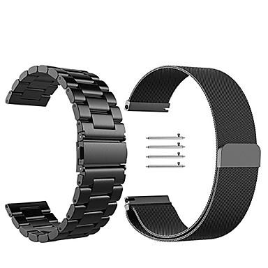 voordelige Horlogebandjes voor Samsung-Horlogeband voor Gear Sport / Gear S2 Classic Samsung Galaxy Milanese lus Roestvrij staal Polsband