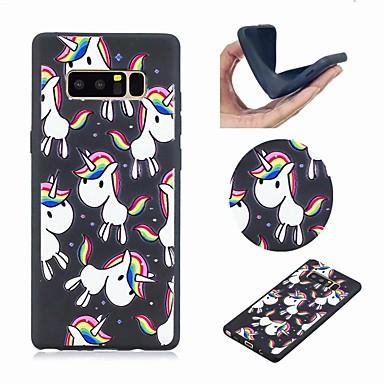 غطاء من أجل Samsung Galaxy Note 8 نموذج غطاء خلفي آحادي القرن ناعم TPU