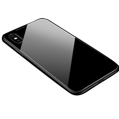 voordelige iPhone 6 hoesjes-hoesje Voor Apple iPhone XS / iPhone XR / iPhone XS Max Transparant / Magnetisch Achterkant Effen Hard Aluminium