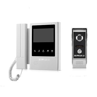 halpa Lukitusjärjestelmät-xinsilu xsl-v43e168 langallinen 4,3 tuuman puhelin / handsfree 480 * 272 pikseliä yhdestä videokameroon