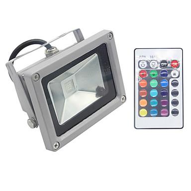 1db 10 W 1000 lm LED gömbbúrás izzók 1 LED gyöngyök Integrált LED Tompítható / Vízálló / Távvezérlésű RGB 85-265 V