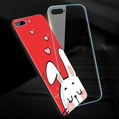 X disegno Per Apple iPhone retro iPhone animati temperato A iPhone Per Resistente 8 per X Vetro Custodia Plus iPhone 8 06764473 specchio iPhone Fantasia Cartoni Animali 8 Plus 1Pv55qw