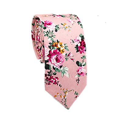 ربطة العنق أقحوان ورد / ألوان متناوبة / خملة الجاكوارد رجالي حفلة / عمل