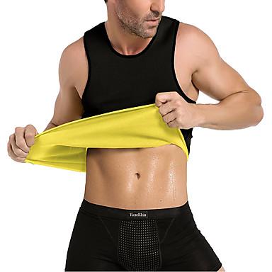ieftine Accesorii Fitness-Corset Vestă Pentru Antrenament Talie Tricou Body Shaper neopren Fără fermoar Pantalon Atractiv Slăbire Pierdere în greutate Tummy Fat Burner Fitness Gimnastică antrenament A face exerciţii fizice