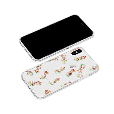 Fantasia 8 Frutta X Plus Per 06831207 Per iPhone Apple retro 8 iPhone Morbido disegno 8 iPhone iPhone iPhone TPU Plus Cartoni animati Custodia X per 0fgnwOO