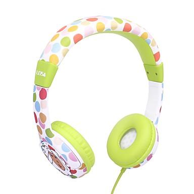 Factory OEM I3B سلك كابل Headphones سماعة قذيفة البلاستيك السفر والترفيه سماعة جميل / نمط هندسي / كوول سماعة