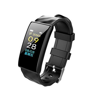 Недорогие Смарт-электроника-JSBP YY-M8 Женский Умный браслет Android iOS Bluetooth Водонепроницаемый Пульсомер Измерение кровяного давления Сенсорный экран Израсходовано калорий / Датчик для отслеживания активности / будильник
