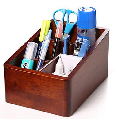 خشب مستطيل تصميم جديد الصفحة الرئيسية منظمة, 1PC منظمو المضمد