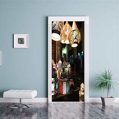 لواصق حائط مزخرفة / ملصقات الباب - لواصق حائط الطائرة ديني / 3D غرفة الجلوس / غرفة النوم