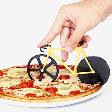 فولاذ مقاوم للصدأ+ABS بدرجة A مقطّع المنزل أدوات المطبخ أدوات أدوات المطبخ بيتزا 1PC