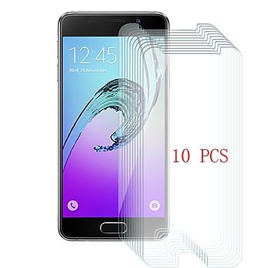 Samsung GalaxyScreen ProtectorA3(2016) 9Hقسوة حامي شاشة أمامي 10قطع زجاج مقسي