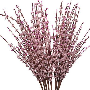 زهور اصطناعية 1 فرع كلاسيكي الحديث المعاصر الزهور الخالدة أزهار الأرض